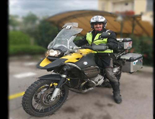 Motorbike diaries- In Tirana ( Albania)