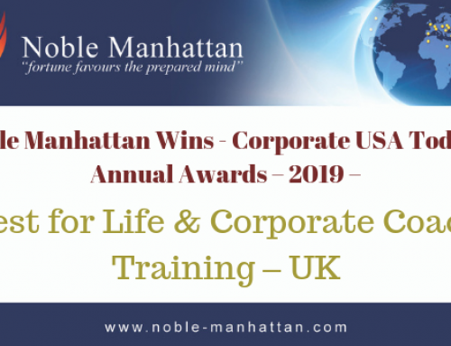 Noble Manhattan Wins – Corporate USA Today – Annual Awards – 2019
