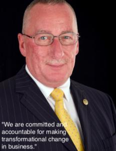 Business Consultant and Regional Director Geoff Jones.