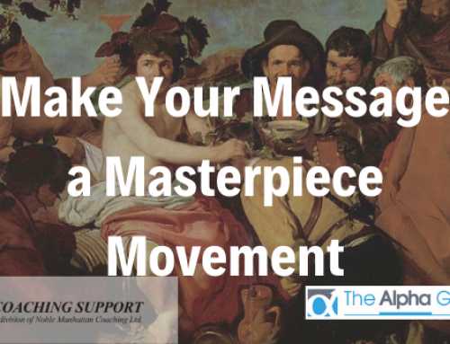 Make Your Message a Masterpiece Movement
