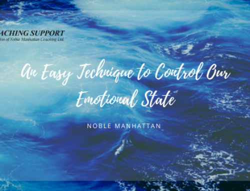 An Easy Technique to Control Our Emotional State