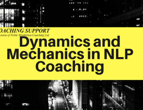 Dynamics and Mechanics in NLP Coaching