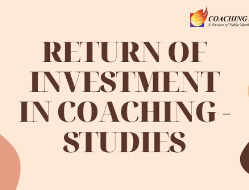 Return of Investment in Coaching – studies