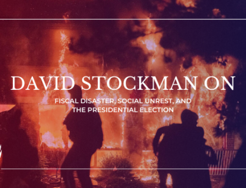 David Stockman on Fiscal Disaster, Social Unrest, and the Presidential Election